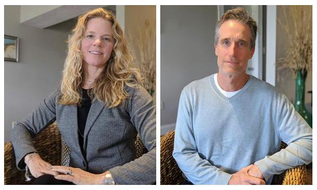 Kimberly and Richard Robbins, Chatham Shores Realty